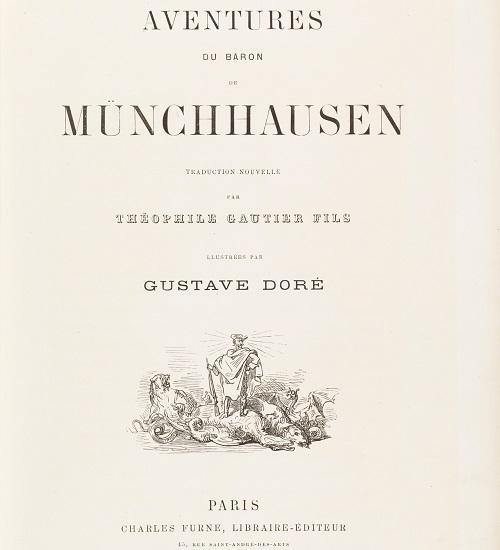Page de titre de la première édition de la traduction par Gautier fils (1862)