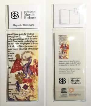 "Marque-page magnétique ""Dragon"""