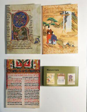 "Trio de carnets ""Manuscripta"""